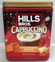 Hills Bros White Chocolate Caramel Cappuccino Mix 16 oz Hills Brothers - $6.12