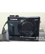 Canon G7X Mark II Power Shot 20.1MP Digital Camera Mark2 MK2 (Black) Used - $389.00