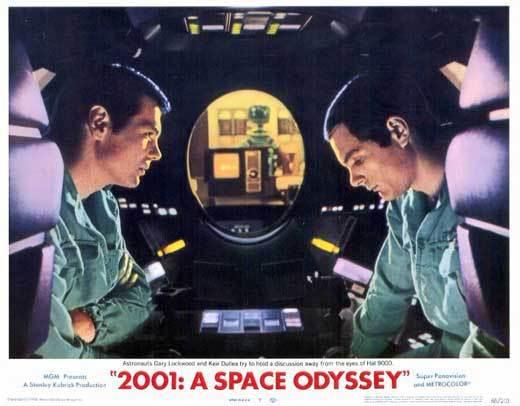 2001 lobby card hal pod conversation
