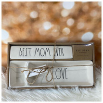 "Rae Dunn ""Best Mom Ever"" Desk Plaque & ""Love"" Desk Tray Free Shipping - $39.60"