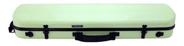 TONARELI Fiberglass Violin 4/4 OBLONG Hard Case - LIME - NEW with straps - $229.00