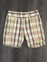 Old Navy Plaid Shorts Size 7 - $10.99