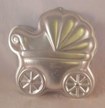 Wilton Baby Buggy Baby Shower Cake Pan 2105-3319 - $9.89