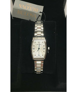 Bulova 96P203 Diamond Accented Stainless Steel White Dial Crystals Women... - $183.82