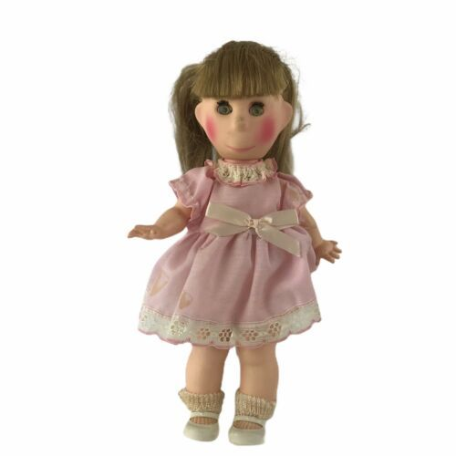 "Vintage 1960s Horsman Poor Pitiful Pearl Doll 12"" Fancy Pink Dress High Color  - $27.73"