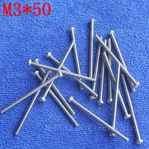 M3*50 1pcs 304 Stainless Steel 50mm Round Head Screws Phillips Crosshead... - $9.95