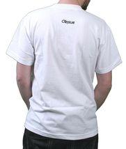 Orisue Mens White Brown Black Carpe Diem Union Working Industry T-Shirt NWT image 3