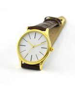 Minimalist Watches with Long Stripe Watch Gold Free Shipping Worldwide - $36.00