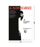 "SCARFACE - MOVIE POSTER (THE AMERICAN DREAM - REGULAR STYLE) (SIZE: 24""... - $15.00"