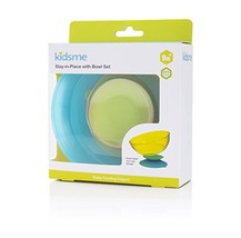 Kidsme Stay-in-Place with Bowl Set, Green - $11.83
