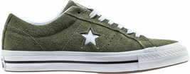 Converse Mens One Star Ox Suede 161576C Field Surplus (Olive) / White Size 9 image 2