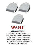 3- Wahl Moser FINE 5 in 1 Blade for BELLISSIMA,ChromStyle,Motion,PRO PET... - $119.68
