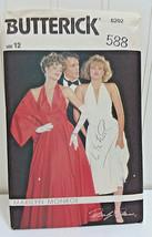 BUTTERICK Vtg Sewing Pattern 588 Marilyn Monroe Halter Dress & Shawl Cos... - $18.86