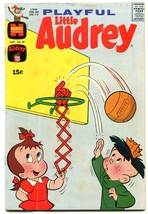 PLAYFUL LITTLE AUDREY #89 1970-HARVEY COMICS BASKETBALL VG - $25.22