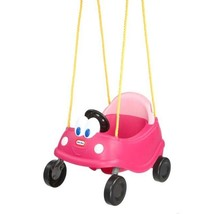 Little Tikes Safety Seat Princess Cozy Coupe First Swing Kids Outdoor Fu... - $51.16