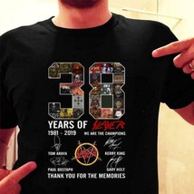 38 Years of SLAYER T-Shirt Anniversary for Rock Fans Thank You Signature... - £8.72 GBP+