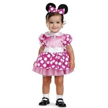 DISNEY MINNIE MOUSE COSTUME FOR INFANT (12-18 MONTHS) BY DISGUISE 11398W - $14.84