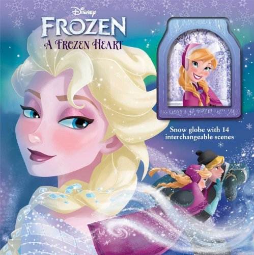 Primary image for Disney Frozen: A Frozen Heart: Storybook with Snowglobe (1) (Glitter/Snow Globe)