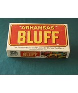 Arkansas Bluff License Plate Card Game Parker Brothers Good Cond - $6.00