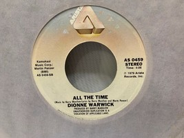 DIONNE WARWICK Deja Vu / All The Time 45 Rpm Vinyl Record - £1.87 GBP