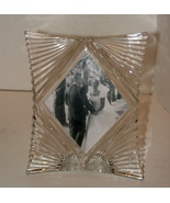 Mikasa Heavy Glass Starlet Picture Frame (Single Photo 5 x 7 inch)  - $12.99