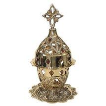 Christian Orthodox Brass Vigil Lamp (9353 B) - $45.53