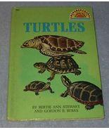 Turtles A Golden Beginning Reader Book Children's Grade 2 Level 1969 - $5.95