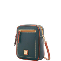 Dooney & Bourke Pebble Grain Camera Crossbody Shoulder Bag Black/Brown T... - $185.48 CAD