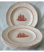 Wedgwood Georgetown Collection Flying Cloud Salad Plate, Set of 5, USED - $50.38