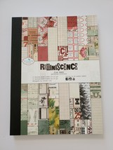 Reminiscence the Book. Patterned Card Stock. Elizabeth Craft Designs