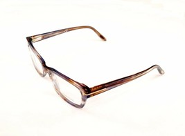 Tom Ford Authentic Eyeglasses Frame TF5184 086 Brown Marble Plastic Ital... - $180.37