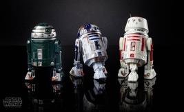 Star Wars The Black Series Astromech R2-X2 R2-D2 R5-D8 3 Figure In Stock - $102.84