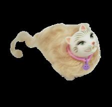 Barbie 2000 Mattel Kitty Spaß Marshmallow Weiß Haustier Katze W / Realistische - $17.59