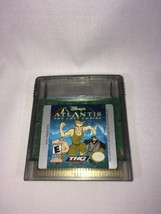 DISNEY'S ATLANTIS THE LOST EMPIRE GAMEBOY COLOR GAME GBC - $5.00