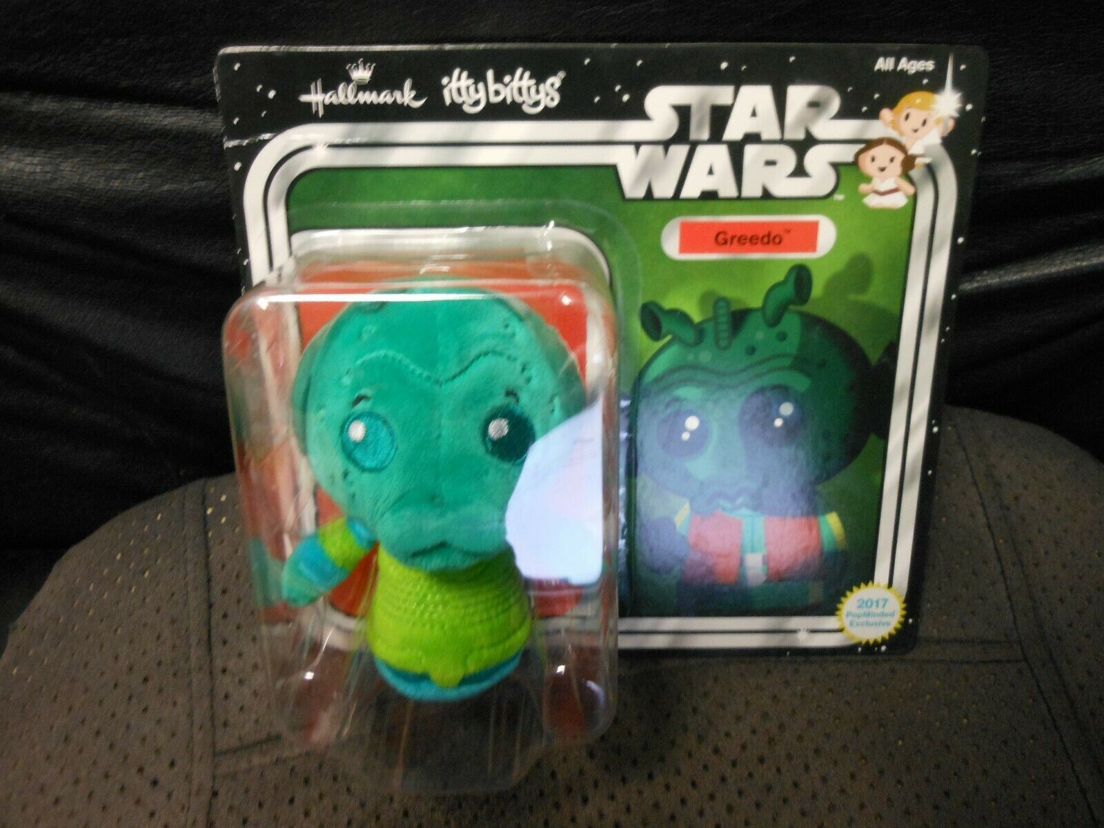 "Primary image for Hallmark Itty Bitty's ""Greedo - Star Wars"" 2017 NEW Plush Crease on Box"