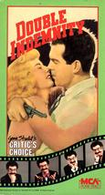 Double Indemnity (VHS Video) - $7.00