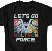 Voltron t-shirt Lets Go Voltron Force retro 80s anime graphic tee DRM327 image 2