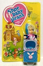 1978 Mattel Shoe Baby Beans Bedtime Baby Beans Doll New Old Stock - $40.00