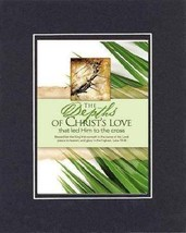 For Palm Sunday - Christian's Love . . . 8 x 10 Inches Biblical/Religious Ver... - $10.95