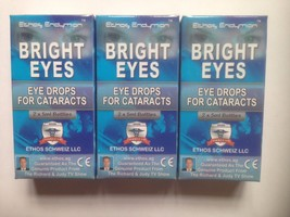 Ethos Eye Drops for Cataracts Bright Eyes 3 Boxes 30ml - $245.97