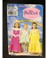 2002 Simplicity Sewing Pattern 5835 SZ 3-8 Disney Princess Uncut Costume - $14.01