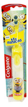 Colgate Minions Extra Soft Oscillating Battery Powered Toothbrush Yellow Age 5+ - $11.87