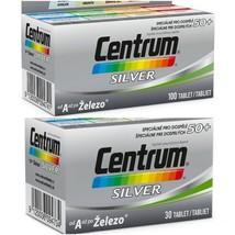 Genuine Centrum Silver 50+ complete vitamins minerals multivitamins 30/1... - $23.99+