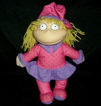 """12"""" Rugrats Doll Angelica Pickles Stuffed Animal Plush Baby Girl Pink Mattel Toy - $15.99"""