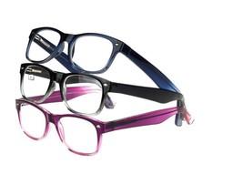 Design Optics Reading Glasses Full Frame Ladies Fashion 3 Pack 1.50 - $14.84