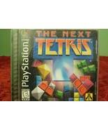 Next Tetris (Sony PlayStation 1 PS1, 1999)  Complete - Tested - Works - VG  - $6.88