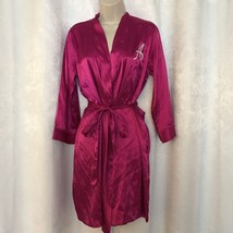 Glamorous Silky Personalized Robe Monogram Initial A With Pockets And Ti... - ₨1,027.11 INR