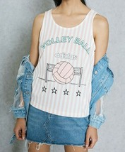 """ADIDAS Archive SPORT Tank Top BJ8219 """" Volley Ball """" Stripe Vapour Pink ... - $69.97"""