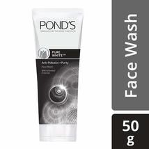 POND'S Pure White Anti-Pollution+Purity Face Wash, 50g  image 2