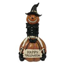 Darice Halloween Jack O Lantern Decor: 5 x 9.21 inches w - $13.99